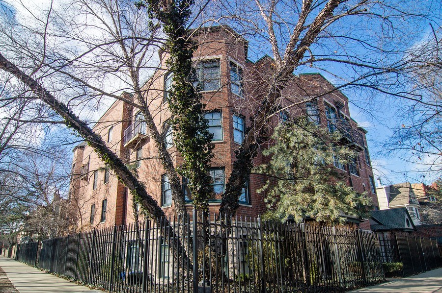 Real Estate Photography - 2500 Seminary, 3W, Chicago, IL, 60614 - Front View