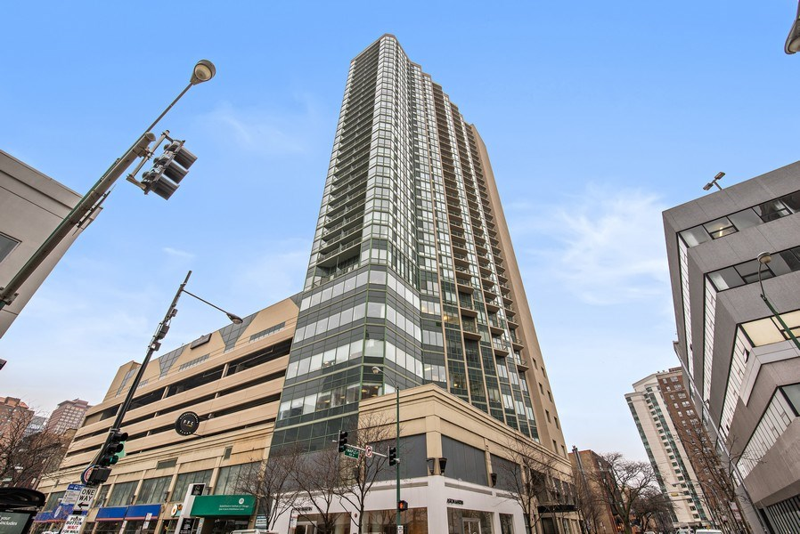Real Estate Photography - 111 W. Maple, 2305, Chicago, IL, 60610 - Front View