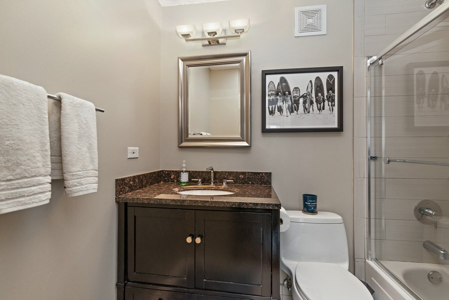 Real Estate Photography - 111 W. Maple, 2305, Chicago, IL, 60610 - Bathroom