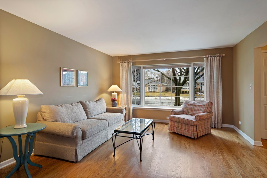 Real Estate Photography - 133 N Rammer, Arlington Heights, IL, 60004 - Living Room