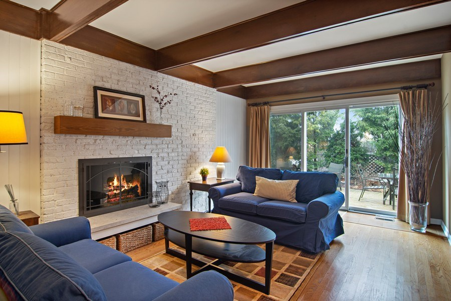 Real Estate Photography - 133 N Rammer, Arlington Heights, IL, 60004 - Family Room