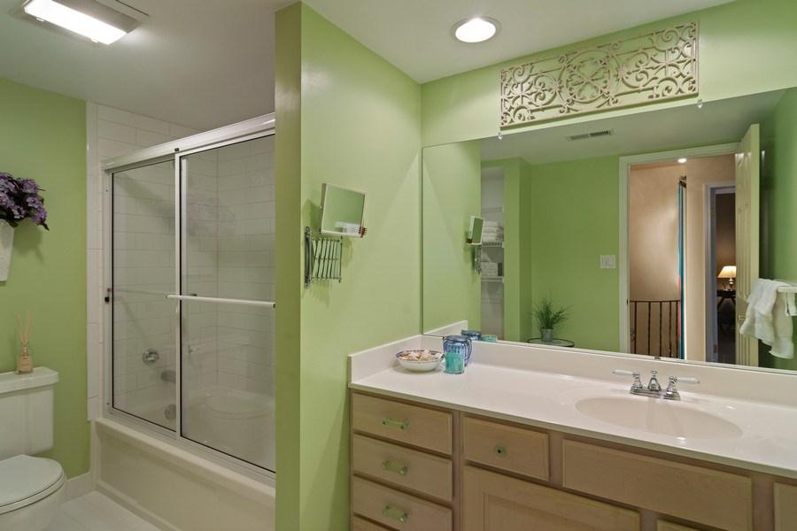 Real Estate Photography - 133 N Rammer, Arlington Heights, IL, 60004 - Bathroom
