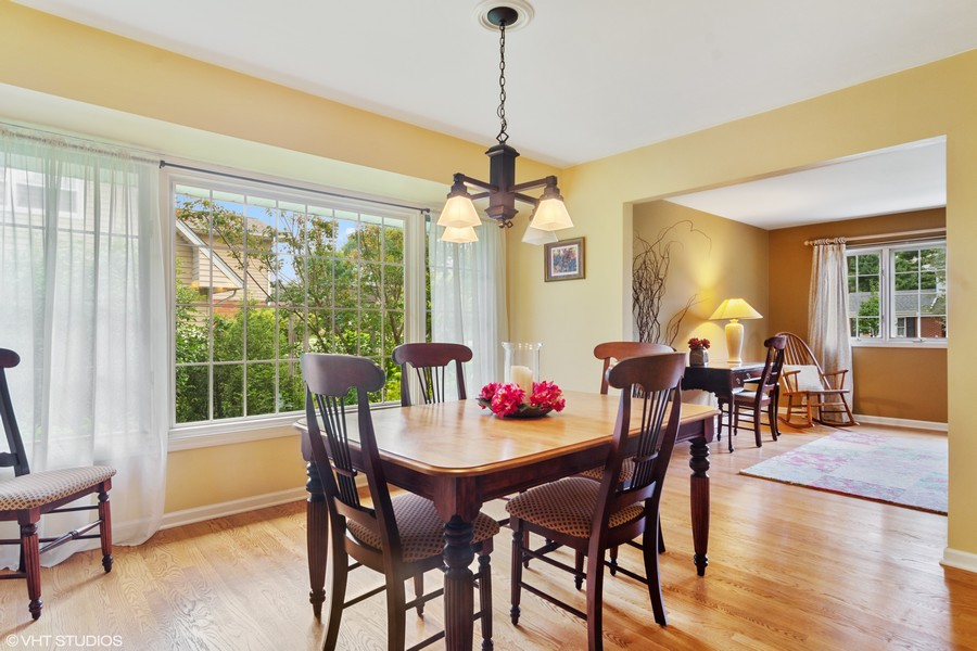 Real Estate Photography - 133 N Rammer, Arlington Heights, IL, 60004 - Dining Room