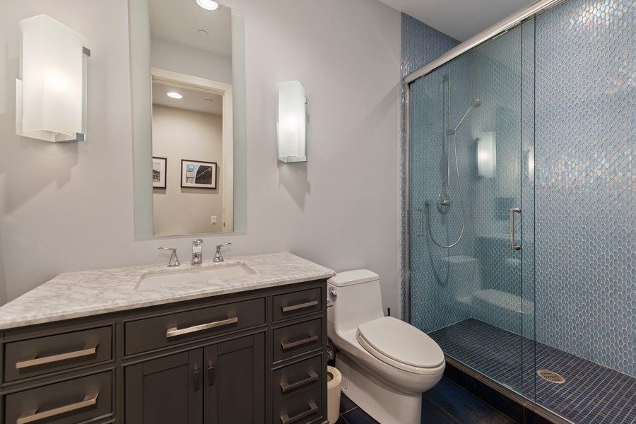 Real Estate Photography - 3310 N Leavitt Ave, Chicago, IL, 60618 - 6th Bathroom