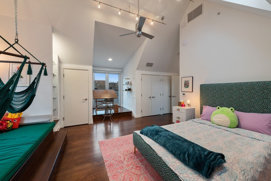 Real Estate Photography - 3310 N Leavitt Ave, Chicago, IL, 60618 - 5th Bedroom