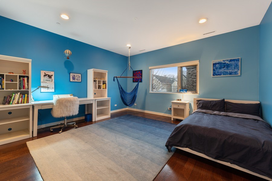 Real Estate Photography - 3310 N Leavitt Ave, Chicago, IL, 60618 - 3rd Bedroom