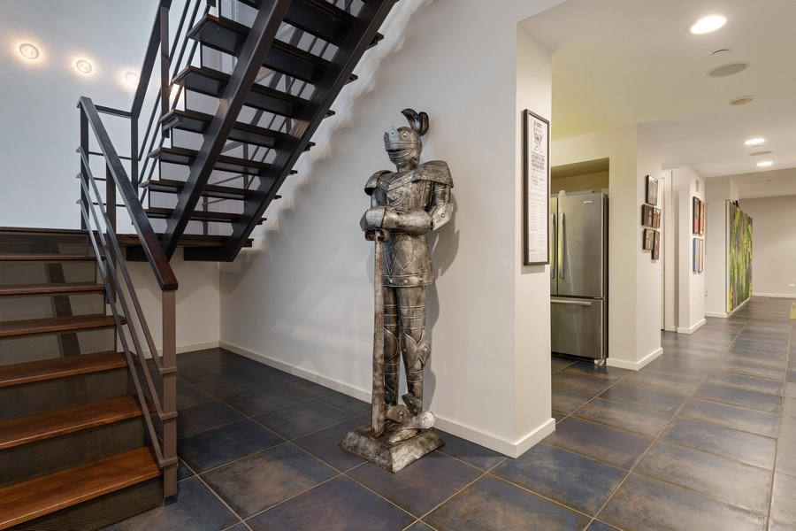 Real Estate Photography - 3310 N Leavitt Ave, Chicago, IL, 60618 - Lower Level