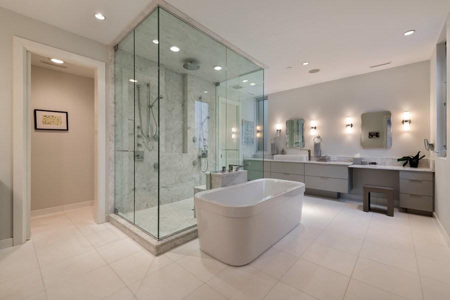 Real Estate Photography - 3310 N Leavitt Ave, Chicago, IL, 60618 - Master Bathroom