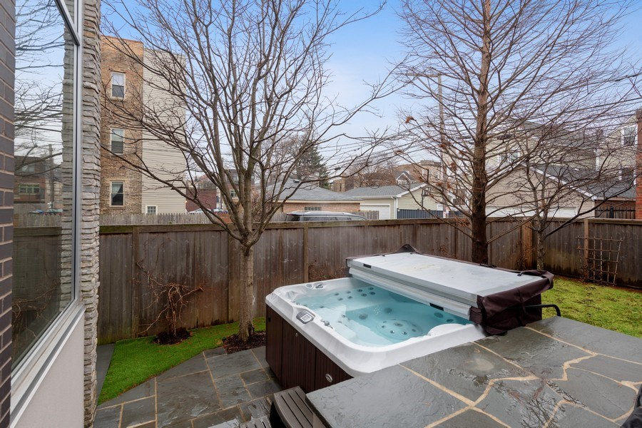 Real Estate Photography - 3310 N Leavitt Ave, Chicago, IL, 60618 - Backyard & Patio