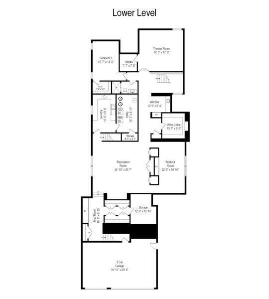 Real Estate Photography - 3310 N Leavitt Ave, Chicago, IL, 60618 - Floor Plan