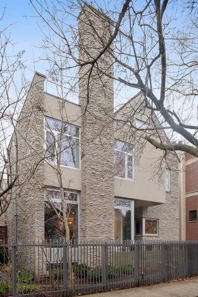 Real Estate Photography - 3310 N Leavitt Ave, Chicago, IL, 60618 - Front View