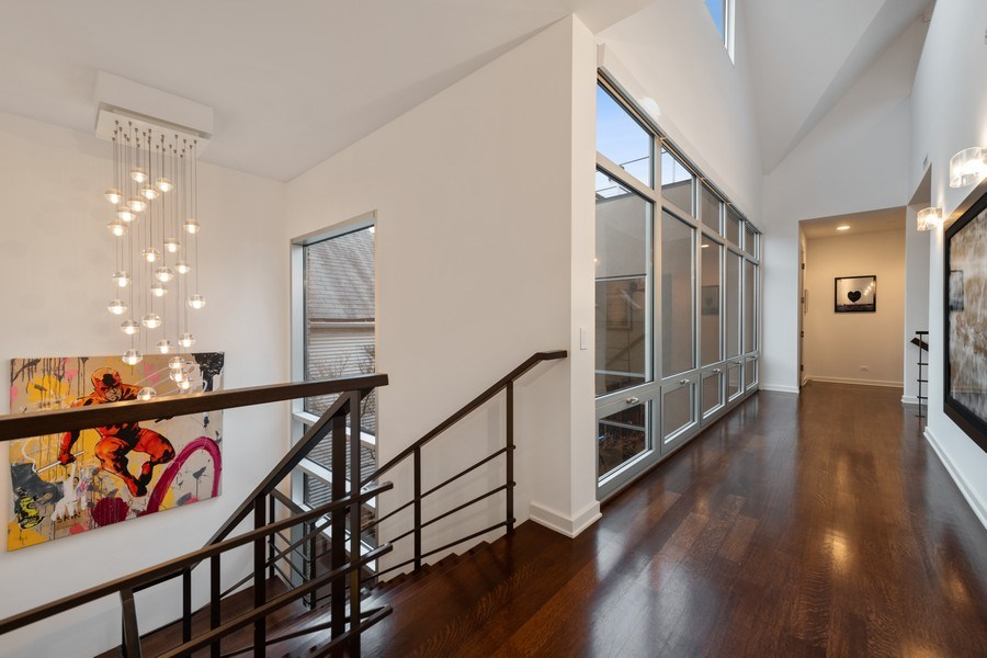 Real Estate Photography - 3310 N Leavitt Ave, Chicago, IL, 60618 - Hallway
