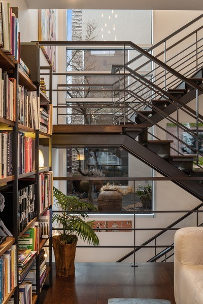 Real Estate Photography - 3310 N Leavitt Ave, Chicago, IL, 60618 - Staircase