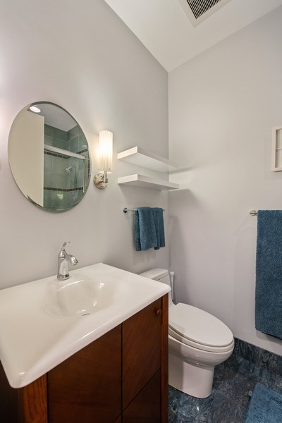 Real Estate Photography - 3310 N Leavitt Ave, Chicago, IL, 60618 - 4th Bathroom