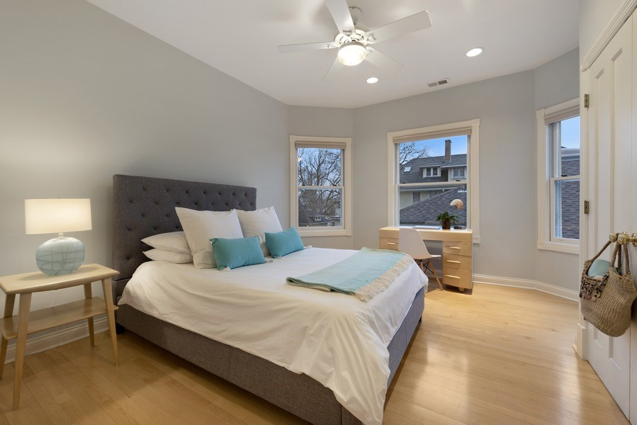 Real Estate Photography - 706 Sheridan Rd, Evanston, IL, 60202 - 2nd Bedroom