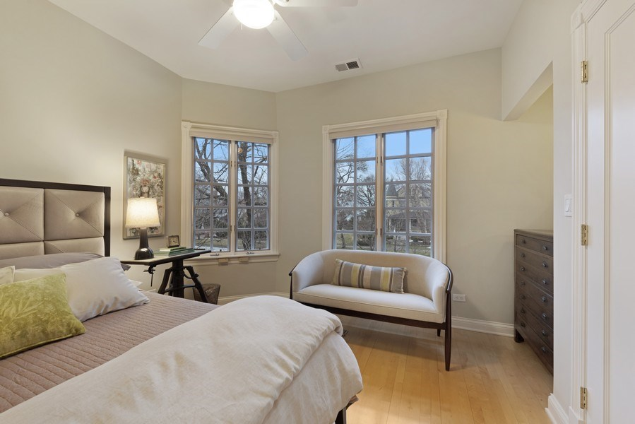 Real Estate Photography - 706 Sheridan Rd, Evanston, IL, 60202 - 4th Bedroom