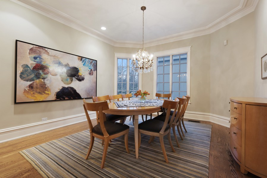 Real Estate Photography - 706 Sheridan Rd, Evanston, IL, 60202 - Dining Room