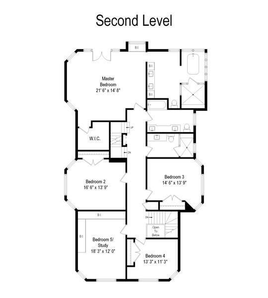 Real Estate Photography - 706 Sheridan Rd, Evanston, IL, 60202 - Floor Plan
