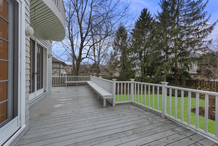 Real Estate Photography - 706 Sheridan Rd, Evanston, IL, 60202 - Deck
