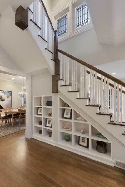 Real Estate Photography - 706 Sheridan Rd, Evanston, IL, 60202 - Staircase