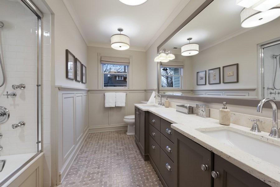 Real Estate Photography - 706 Sheridan Rd, Evanston, IL, 60202 - 2nd Bathroom