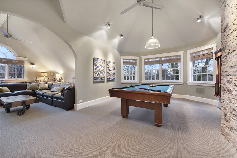 Real Estate Photography - 706 Sheridan Rd, Evanston, IL, 60202 - Play / Recreational Room