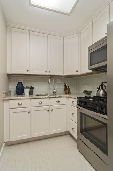 Real Estate Photography - 850 DeWitt, #18A, Chicago, IL, 60611 - 1 Bedroom- Kitchen