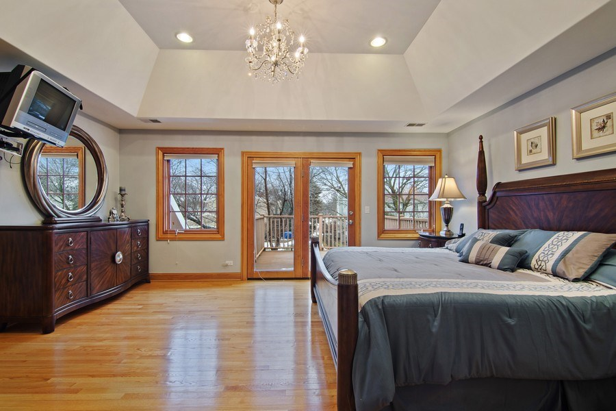 Real Estate Photography - 1200 Manzella Lane, Glenview, IL, 60025 - 3rd Bedroom