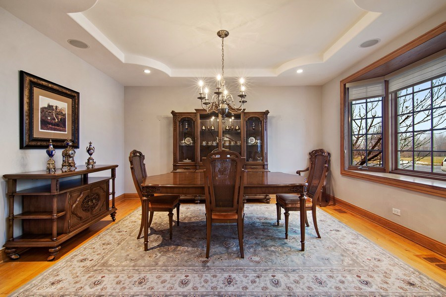 Real Estate Photography - 1200 Manzella Lane, Glenview, IL, 60025 - Dining Room