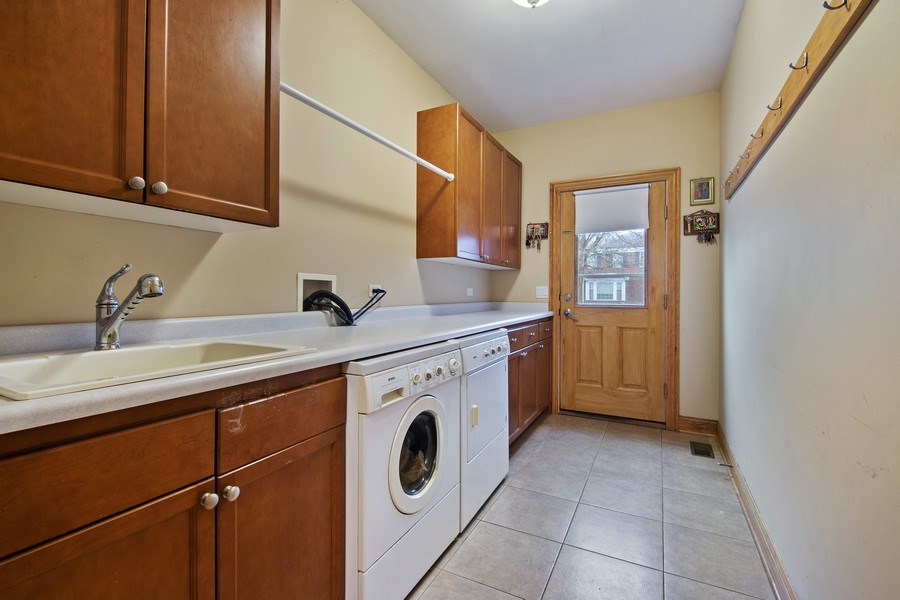 Real Estate Photography - 1200 Manzella Lane, Glenview, IL, 60025 - Laundry Room