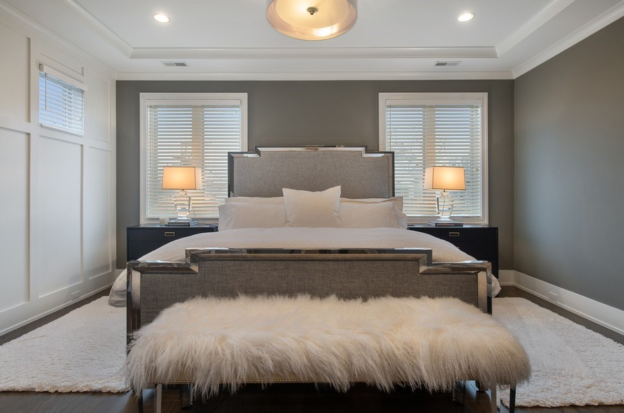 Real Estate Photography - 3943 N Hoyne Ave, Chicago, IL, 60618 - Master Bedroom