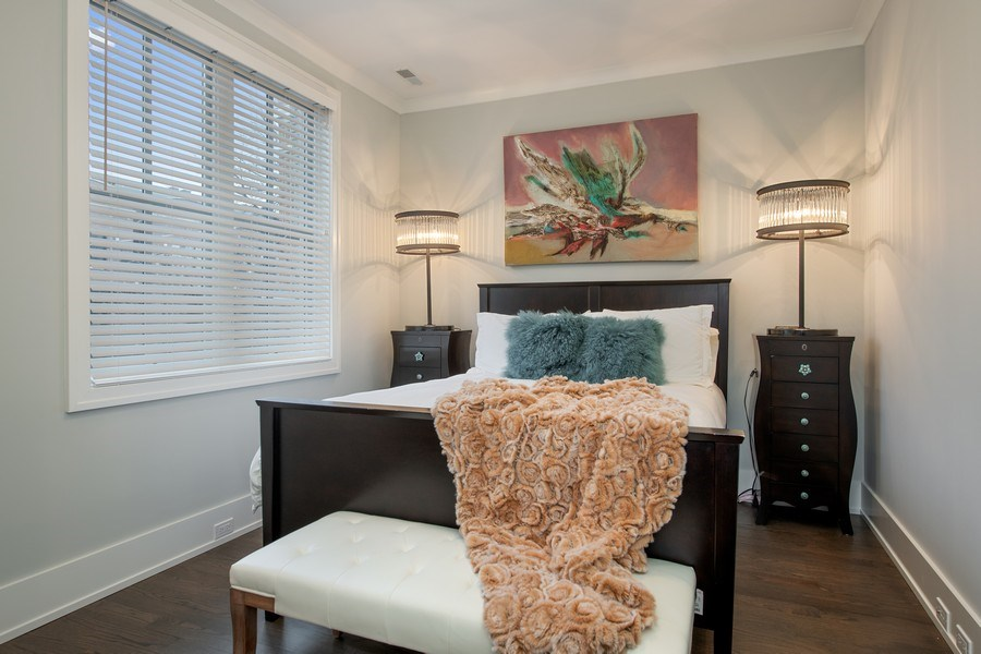 Real Estate Photography - 3943 N Hoyne Ave, Chicago, IL, 60618 - 3rd Bedroom