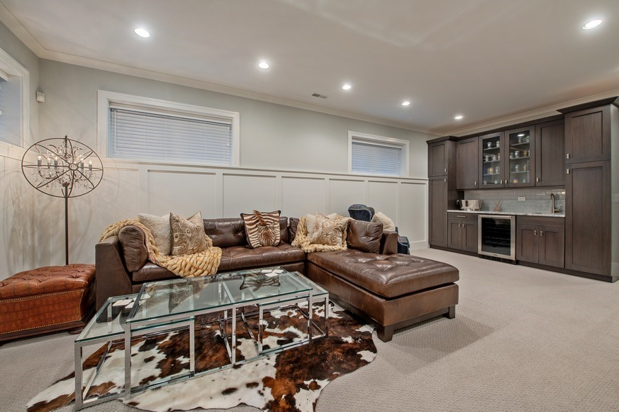 Real Estate Photography - 3943 N Hoyne Ave, Chicago, IL, 60618 - Lower Level