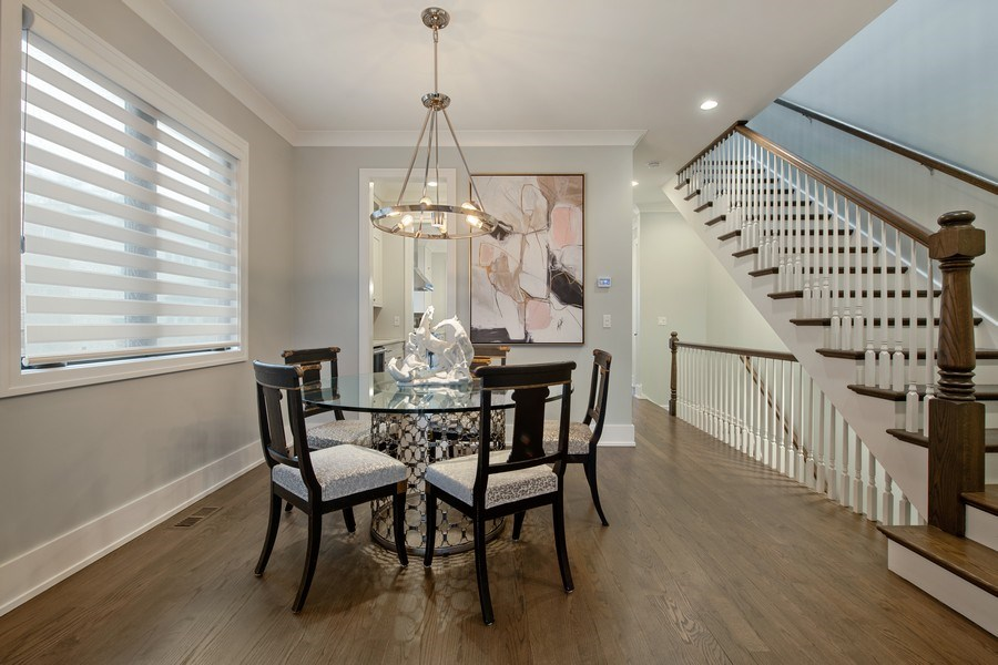 Real Estate Photography - 3943 N Hoyne Ave, Chicago, IL, 60618 - Dining Room