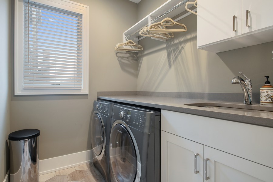 Real Estate Photography - 3943 N Hoyne Ave, Chicago, IL, 60618 - Laundry Room