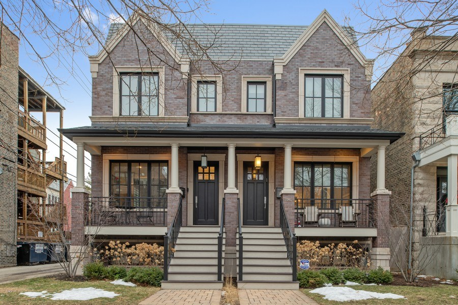 Real Estate Photography - 3943 N Hoyne Ave, Chicago, IL, 60618 - Front View