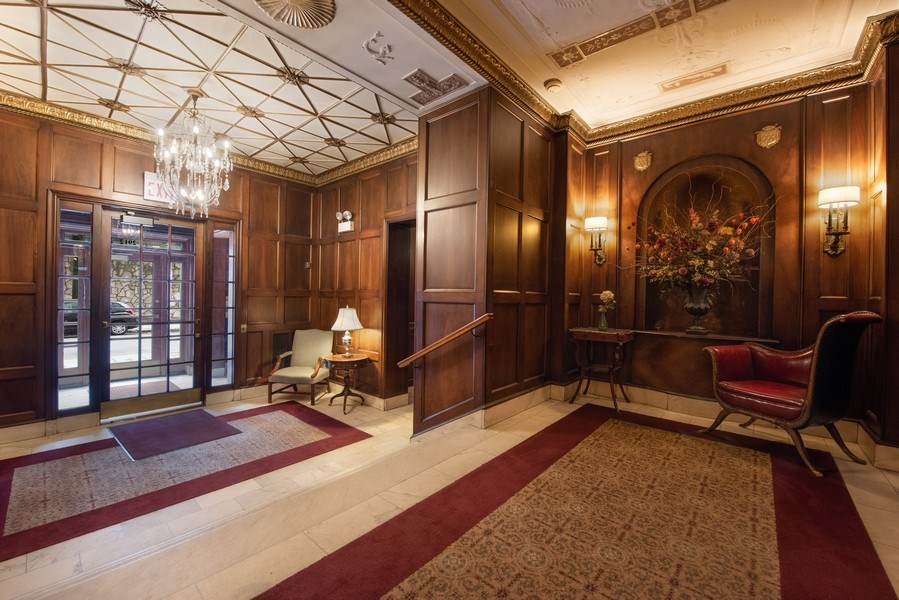 Real Estate Photography - 2912 N Commonwealth, Unit 1A, Chicago, IL, 60657 - Lobby
