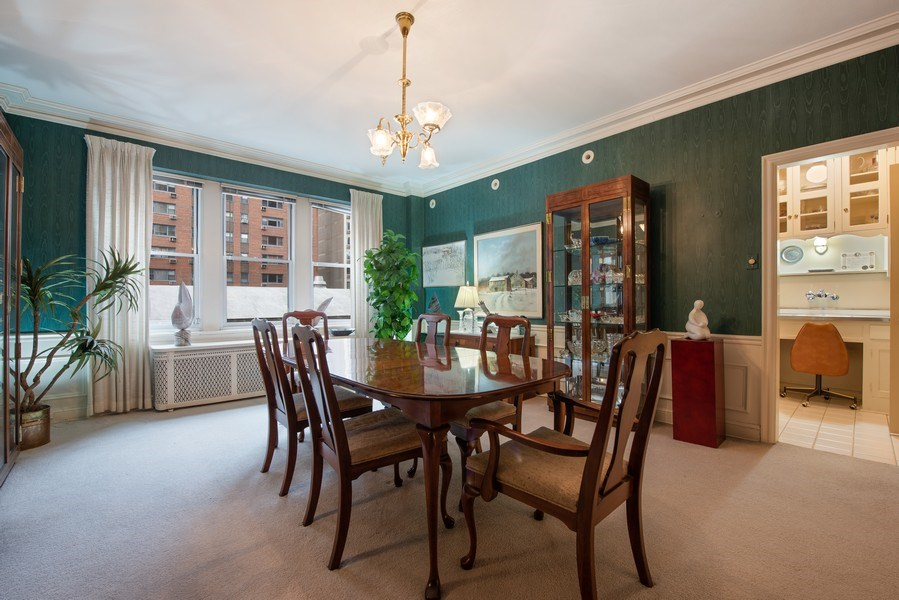 Real Estate Photography - 2912 N Commonwealth, Unit 1A, Chicago, IL, 60657 - Dining Room