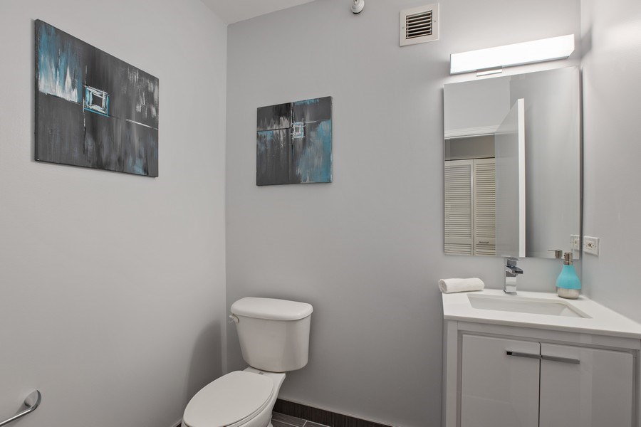 Real Estate Photography - 630 N State, Unit 2410, Chicago, IL, 60611 -