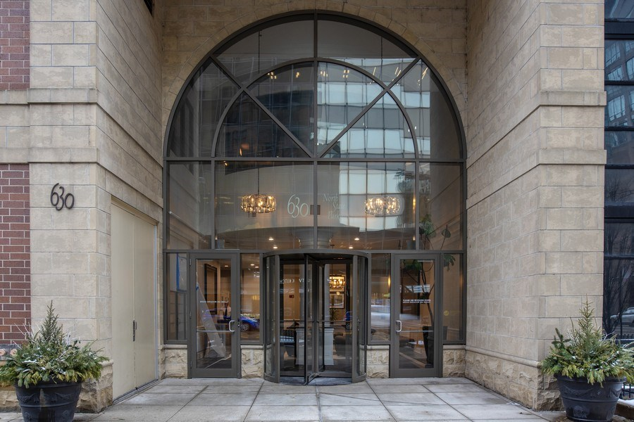 Real Estate Photography - 630 N State, Unit 2410, Chicago, IL, 60611 - Entrance