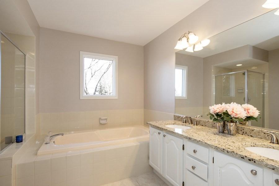 Real Estate Photography - 1716 Cedar Glen Ct, Libertyville, IL, 60048 - Master Bathroom