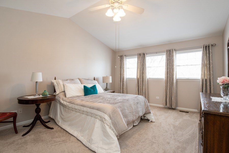 Real Estate Photography - 1716 Cedar Glen Ct, Libertyville, IL, 60048 - Master Bedroom