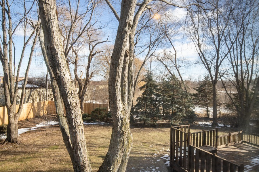 Real Estate Photography - 1716 Cedar Glen Ct, Libertyville, IL, 60048 - Back Yard