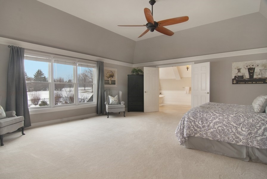 Real Estate Photography - 38W613 Clubhouse Dr, St Charles, IL, 60175 - Master Bedroom