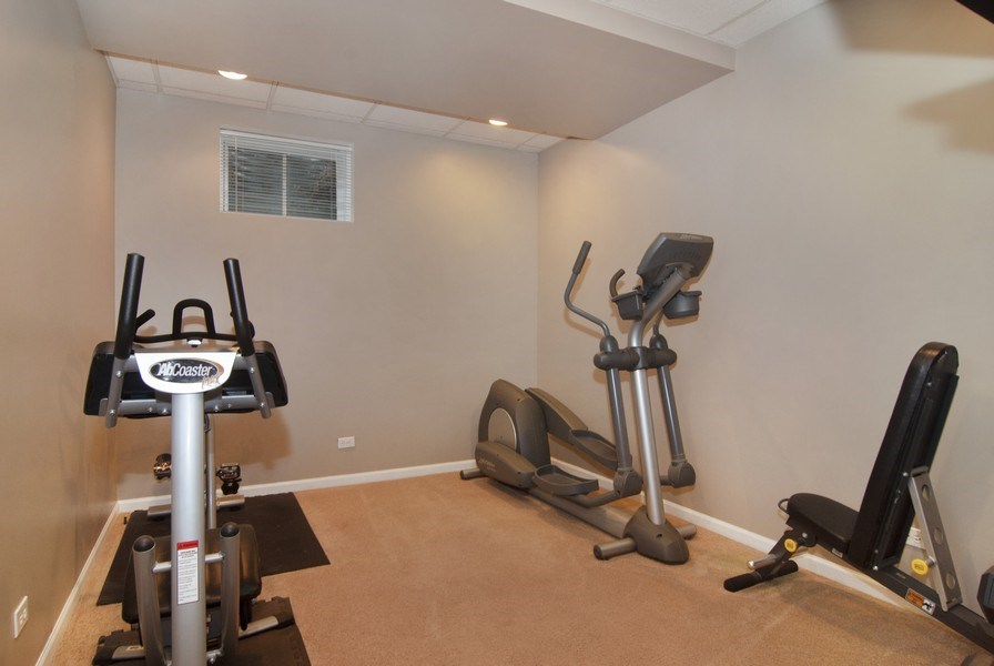 Real Estate Photography - 38W613 Clubhouse Dr, St Charles, IL, 60175 - Exercise Room