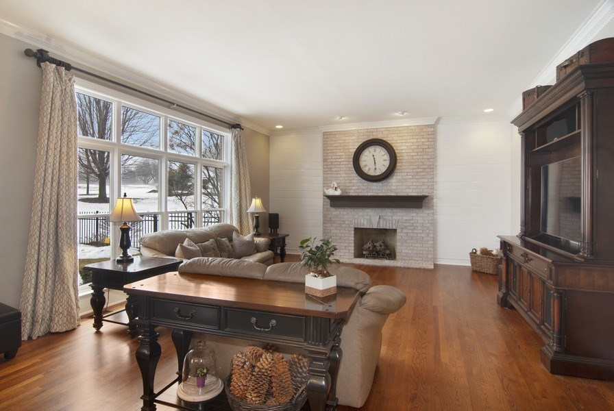 Real Estate Photography - 38W613 Clubhouse Dr, St Charles, IL, 60175 - Family Room