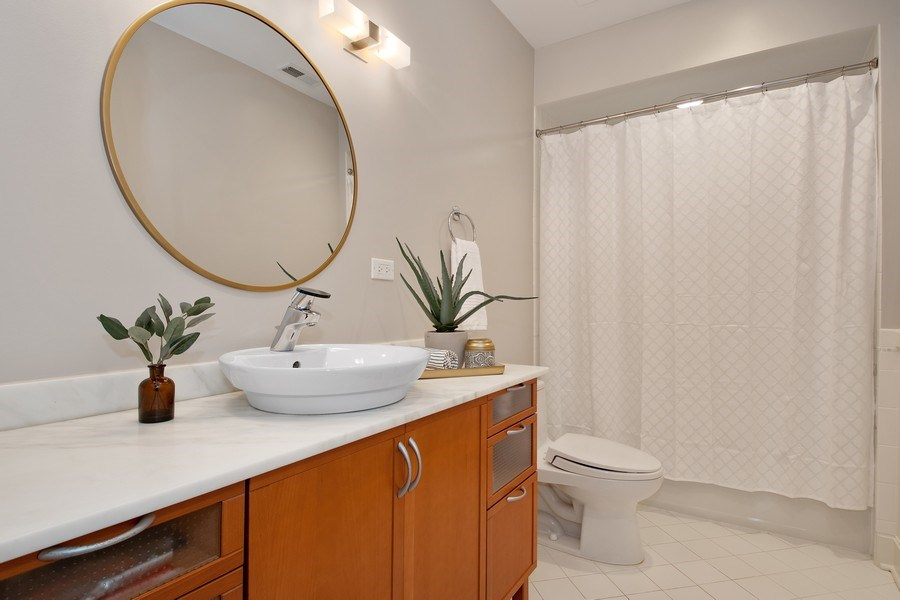 Real Estate Photography - 1509 E Eton Dr, Arlington Heights, IL, 60004 - 3rd Bathroom