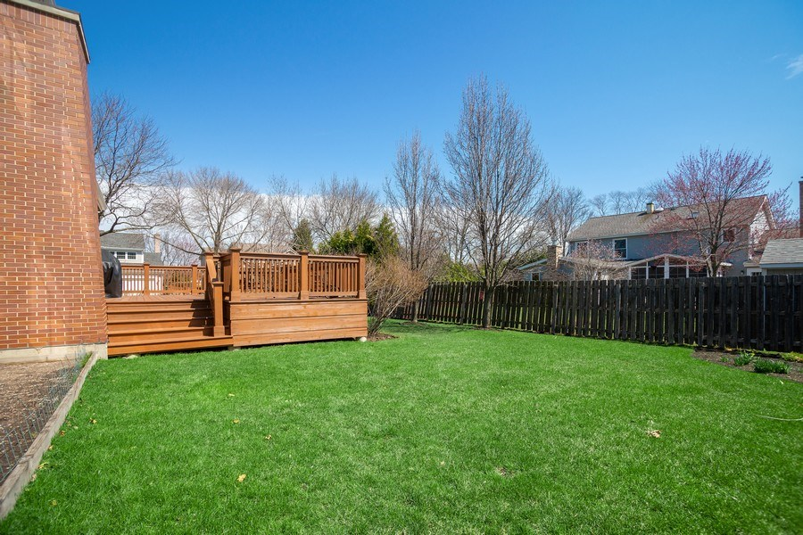 Real Estate Photography - 1509 E Eton Dr, Arlington Heights, IL, 60004 - Back Yard