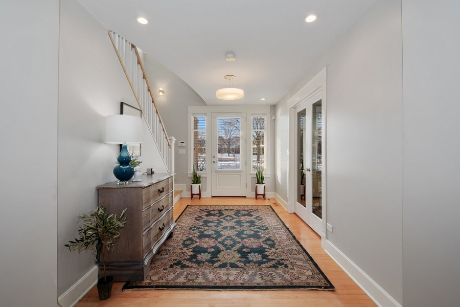 Real Estate Photography - 1509 E Eton Dr, Arlington Heights, IL, 60004 - Foyer