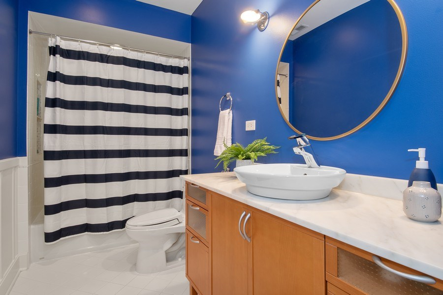 Real Estate Photography - 1509 E Eton Dr, Arlington Heights, IL, 60004 - 2nd Bathroom